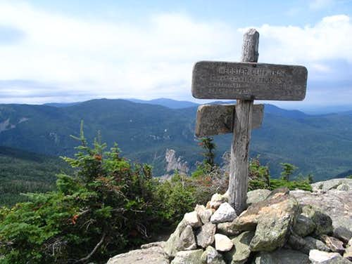 A great view on Mt Jackson....