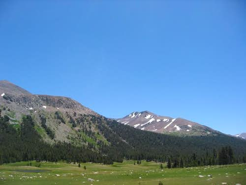 Mount Gibbs from CA 120 near...