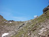 Feldseescharte /2714m/ on the...