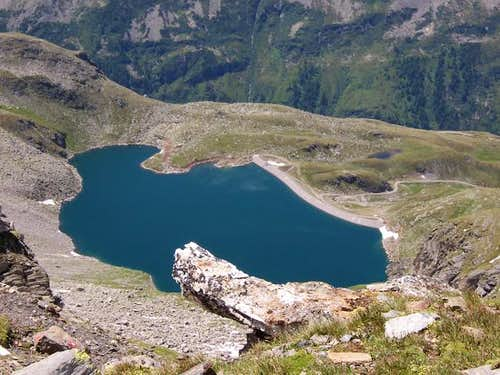 Feldsee /2206m/ from the...
