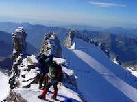 Summit ridge of Gran Paradiso