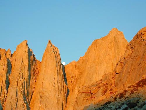 Mt. Whitney and the Needles...