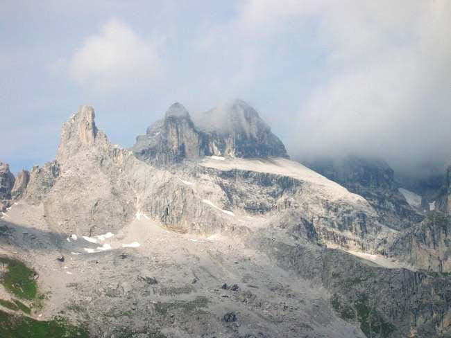 The Dreitürme, as seen from...