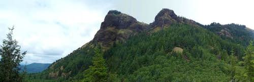 Saddle Mountain from a small...