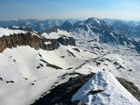 U.S. Grant Peak from near the...