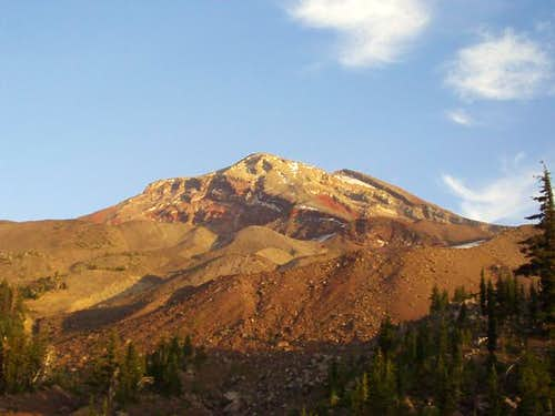 South Sister at Sunset,...