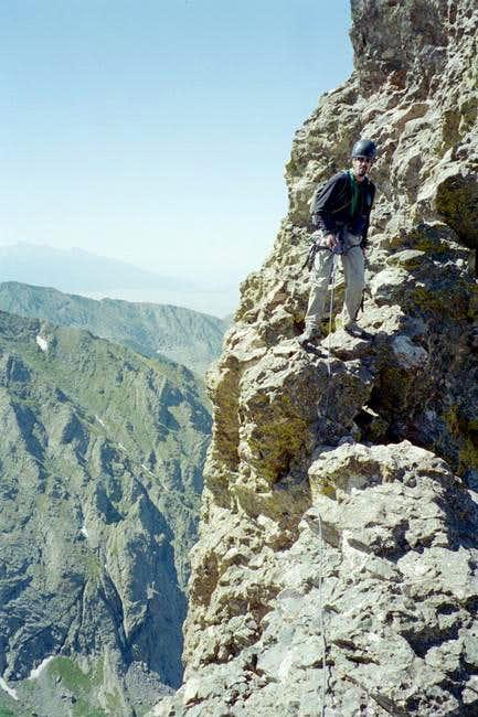 Part of the Knife ridge...