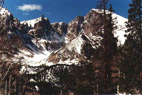 East Face of Wheeler Peak