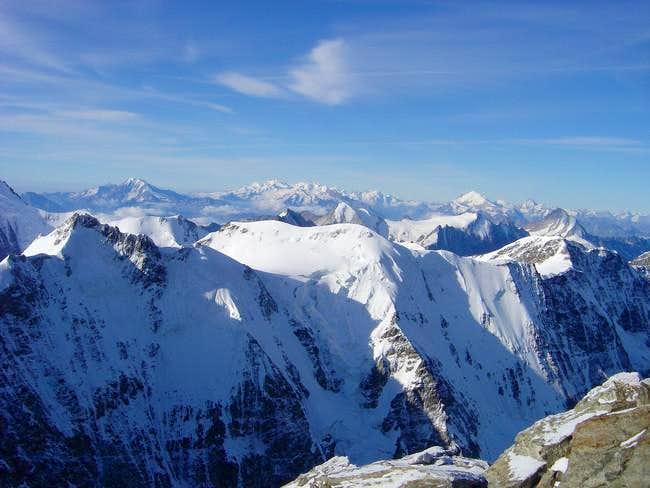 Ebnefluh seen from Jungfrau....