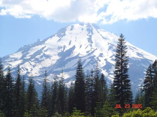 Fantastic views of Mt. Shasta...