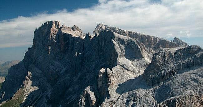 Summit view La Rosetta...