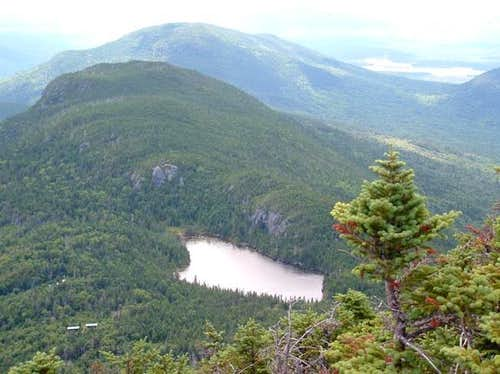 Horns Pond from South Horn. A...