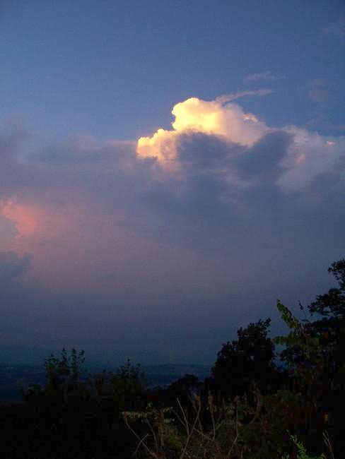 The thunderhead starts to...