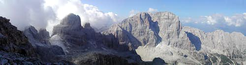 a pano starting from Cima...