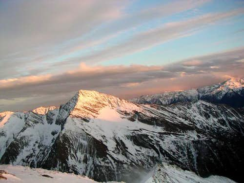 Sunset at Maresen spitze from...