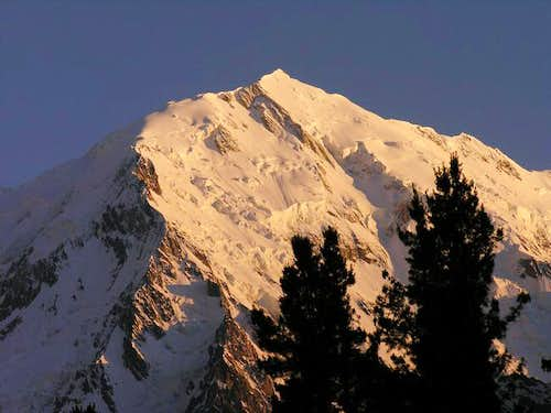 Nanga Parbat group from...