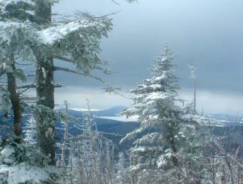 A view towards Rangeley Lake...