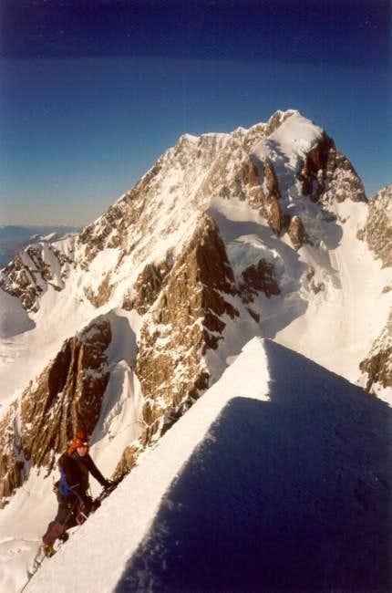 Mt Cook from Mt Silberhorn....