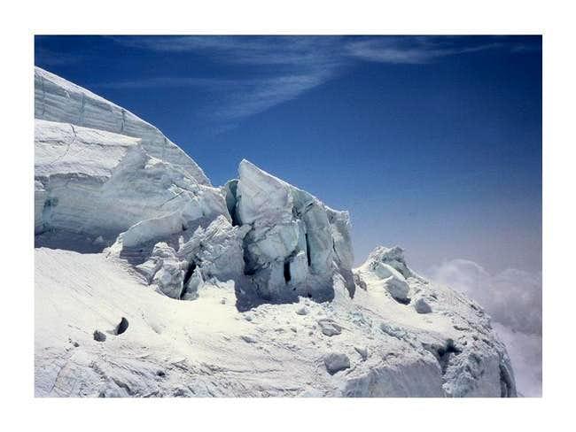 Lys glacier....