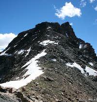 Saddle between Mount Lockhart...