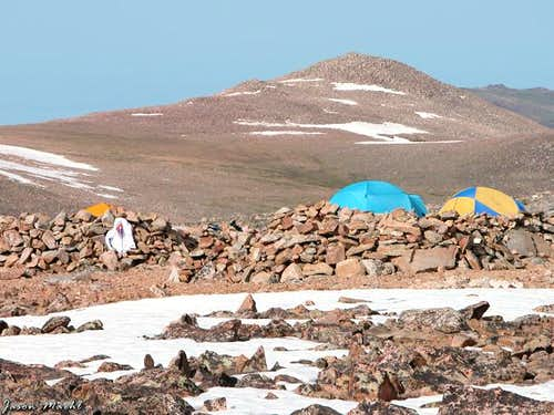 Granite Peak Base Camp on...
