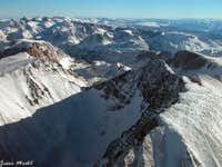 Granite Peak and Tempest Mtn.