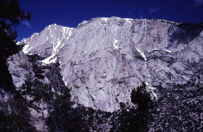 Direct South Face