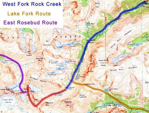 Three Main Routes
