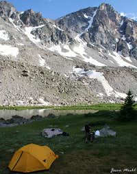 Camp site near Shadow Lake...
