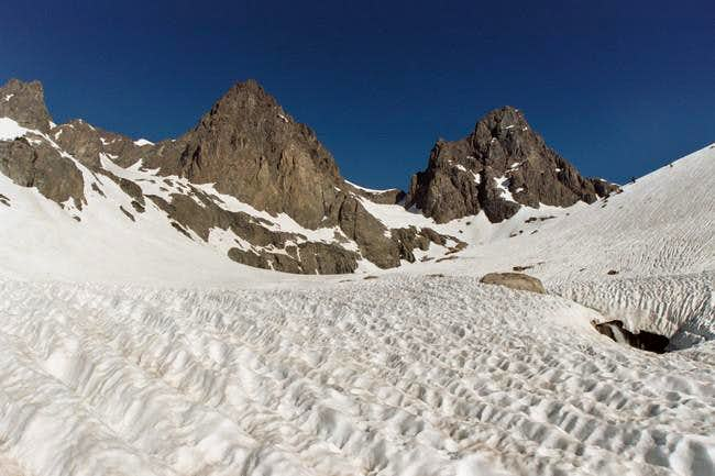 Mt Ritter and Banner Peak,...
