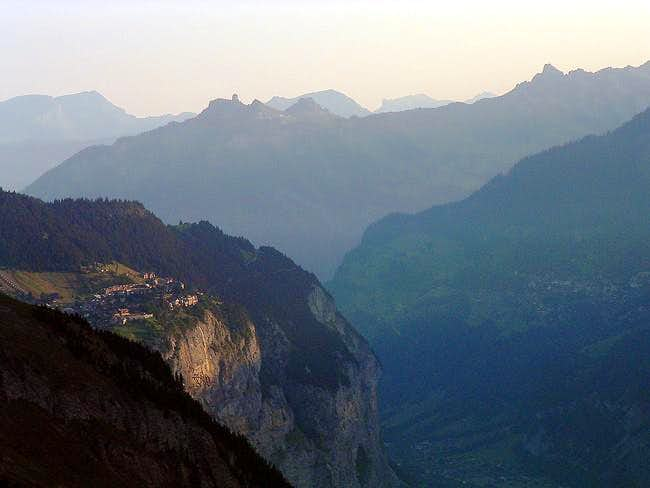 View of the Lauterbrunnental...