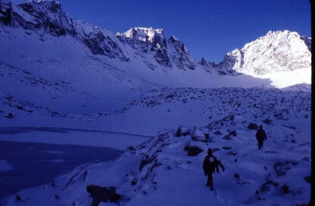 Mount Gilbert in full winter...