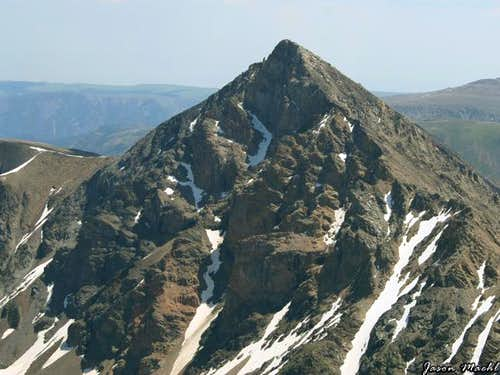 Whitetail Peak from the...