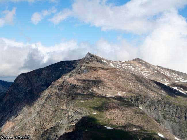 Silver Run Peak at Plateau...