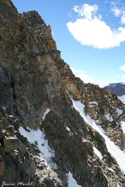 Whitetail Peak Snow Couloir