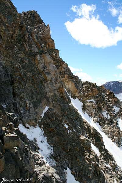 Whitetail Peak Snow Couloir