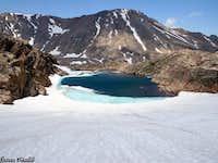 Omega Lake and Sundance Mtn.