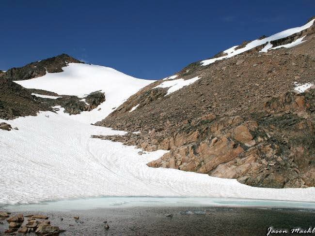 Omega Lake and Saddle