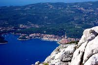 Town of Korcula seen from the...
