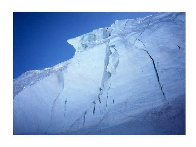 The Lys glacier. July 2005