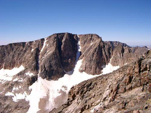 Castle Mountain from Sundance...