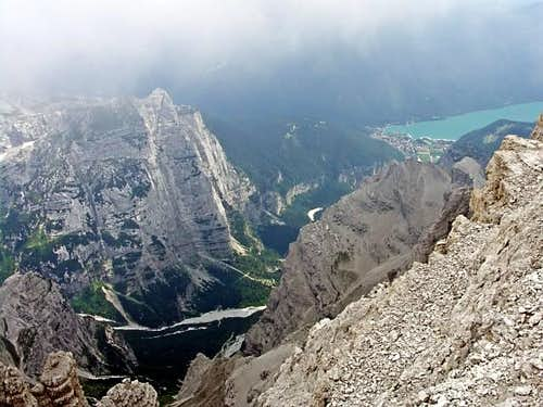 Croz dell\'Altissimo and Lago di Molveno