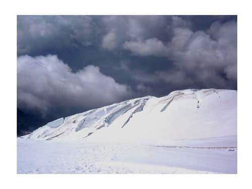 A part of the Lys glacier....