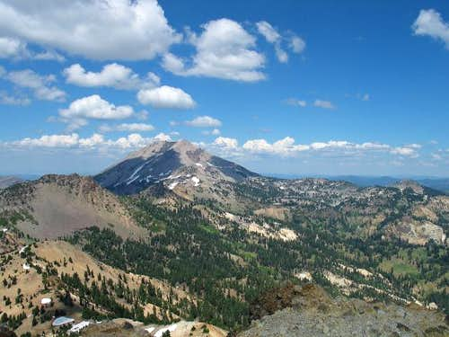 Lassen Peak is pretty much...
