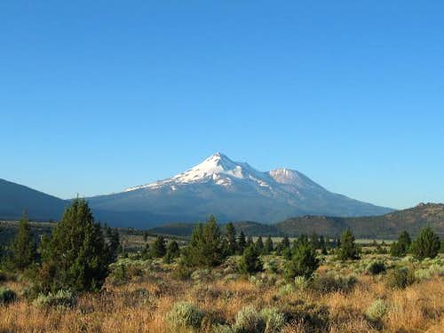 Looking at Shasta on the...