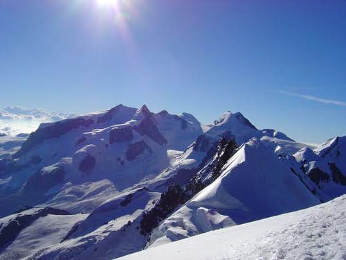 Monte Rosa from Breithorn...