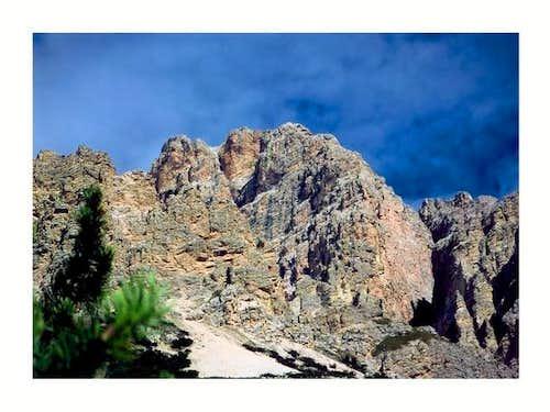 Monte Cristallo massif viewed...