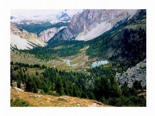 The Valle Paron seen from WS....