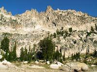 Braxon Peak's south face as...