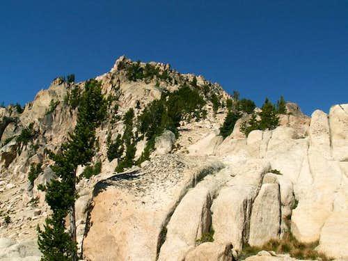 Braxon Peak's east ridge from...